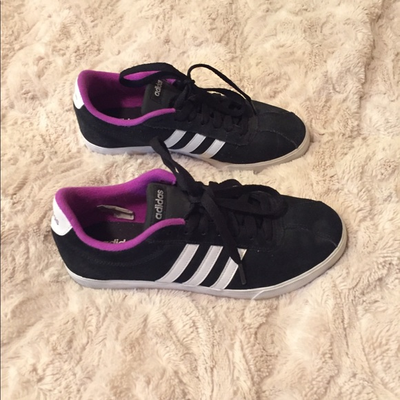 adidas Shoes | Black White And Purple